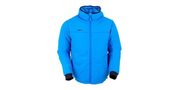 Pánská modrá zateplená bunda Izas