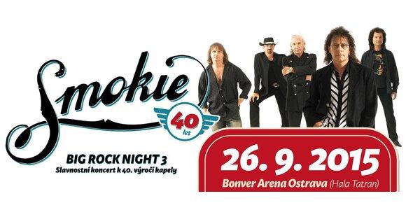 Koncert kapely Smokie v Ostravě