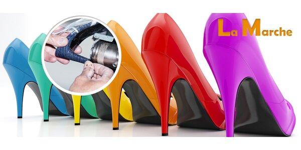 Oprava dámských podpatků pro jeden pár bot