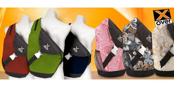 Designové batohy nové generace X-OVER