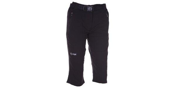 Dámské 3/4 černé kalhoty Kilpi