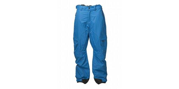Pánské azurově modré snowboardové kalhoty Fundango s membránou