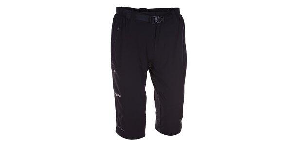 Pánské černé 3/4 kalhoty Kilpi