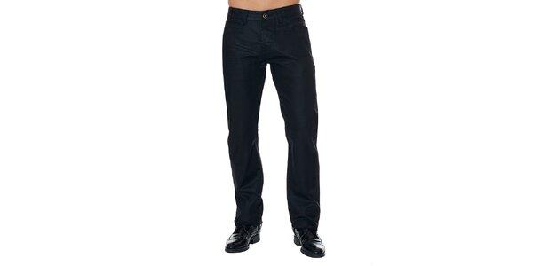 Pánské černé kalhoty Paul Stragas