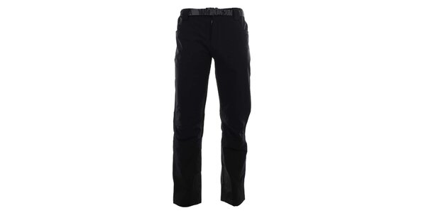 Pánské černé lyžařské kalhoty Authority
