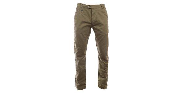 Pánské hnědé kalhoty Timeout