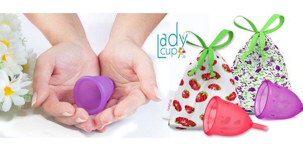 Menstruační kalíšky LadyCup + obal z bio bavlny