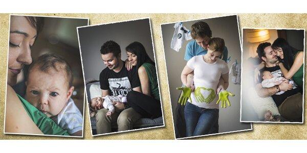 Family nebo newborn lifestyle focení