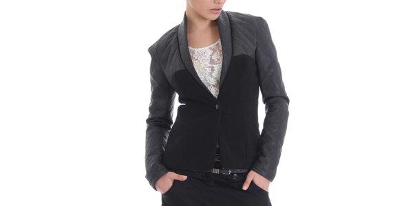 Dámské kašmírové černé sáčko Caramella Fashion