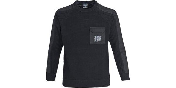 Pánský černý svetr Trespass