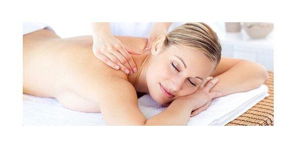 Klasická masáž s vlastním výběrem oleje