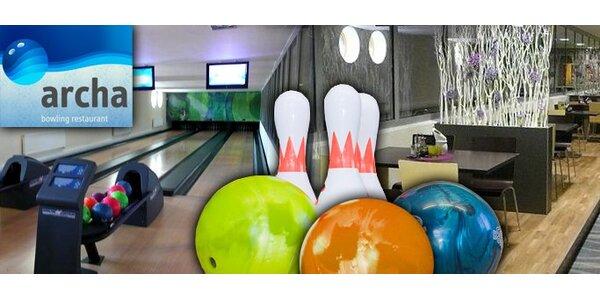 290 Kč za 2 hodiny bowlingu ve sportovně zábavním centru na Flošně.