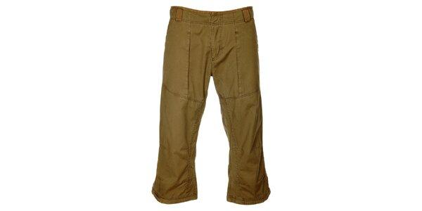 Pánské hnědé 3/4 kalhoty Hannah