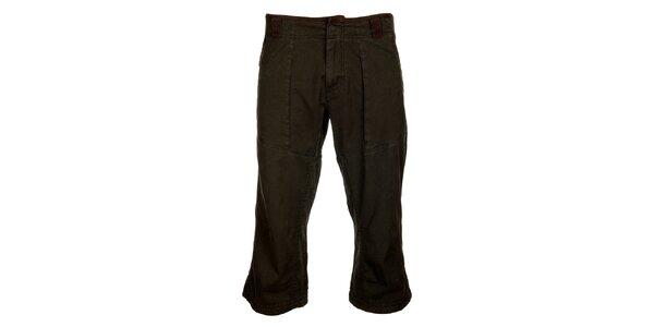 Pánské tmavě šedé 3/4 kalhoty Hannah