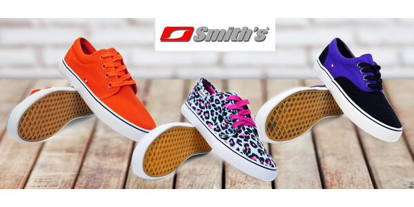 Dámské textilní botky Smith's