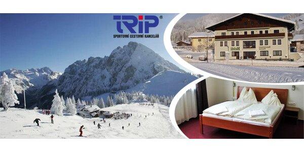 Jarní lyžování v rakouských Alpách