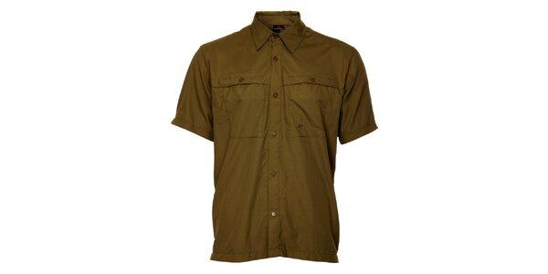 Pánská khaki košile Hannah