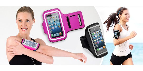 Reflexní pouzdro na telefon pro sport a volný čas