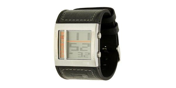 Pánské černé digitální hodinky RG512