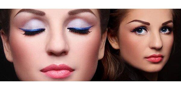 Permanentní make-up obočí, horních nebo spodních očních linek