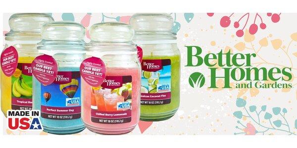 Aromatické svíčky Better Homes – 26 svěžích vůní