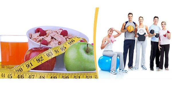 Konzultace s odborníkem na výživu, měření skladby těla a jídelníček šitý na míru