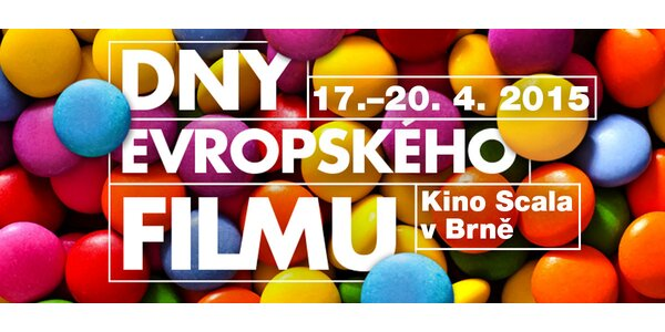 2 lístky na film z přehlídky Dny evropského filmu (Brno)