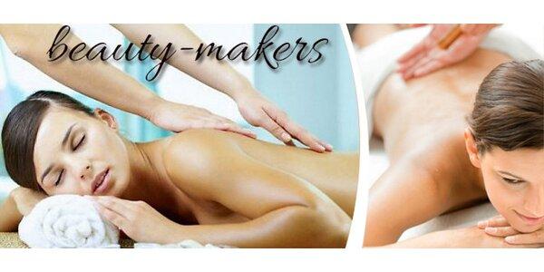 Ralaxační masáž zad a šíje nebo Breussova masáž