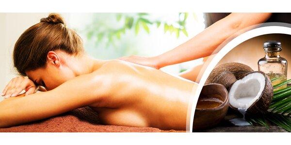 Celková masáž těla nebo masáž zad