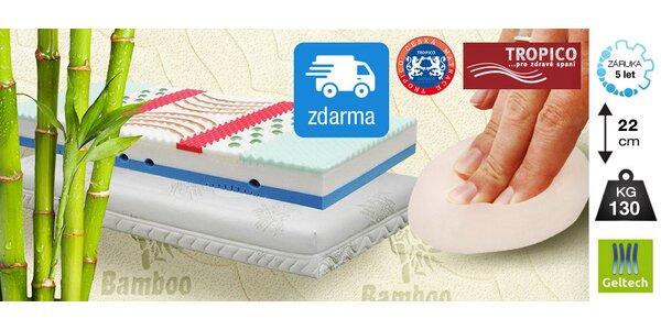 Komfortní matrace Tropico Geltech Alfa®