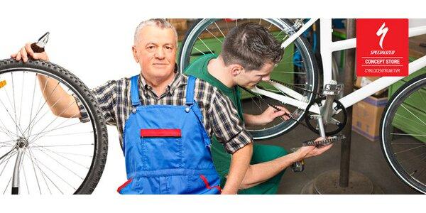 Příprava na cyklosezónu - profesionální servis kola