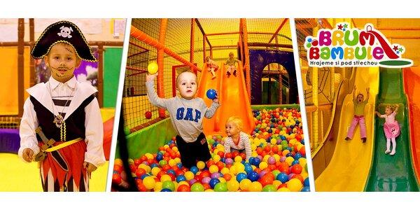 Vstup do dětského zábavního parku Brumbambule