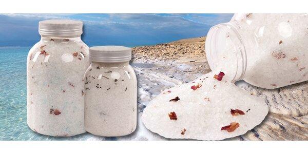 Přírodní koupelové soli s bylinkami