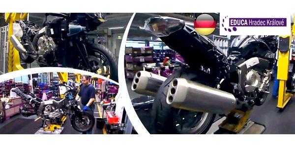 Celodenní výlet do výrobny motorek BMW v Berlíně