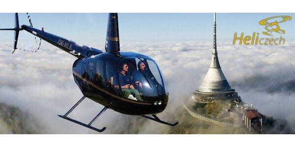 Zážitkové lety vrtulníkem - výběr z 15 úžasných lokalit po celé ČR