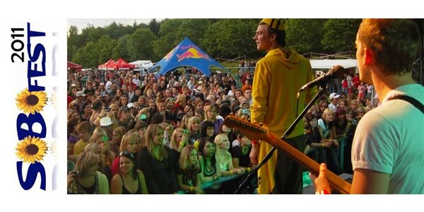 99 Kč za vstupenku na festival Sobofest!