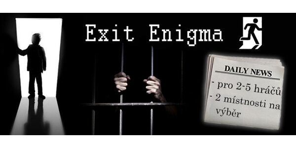 Exit Enigma - pořádně chytrá zábava