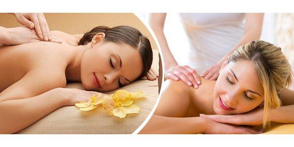 Klasická masáž v délce 30 minut
