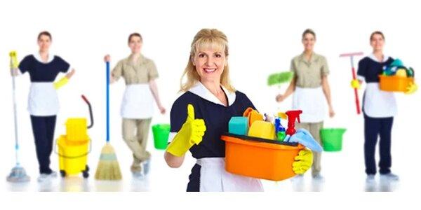 Profesionální jarní úklid bytu či domu do 50 m2