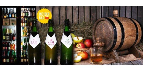 Ochutnávka výborných ciderů v InCider Baru