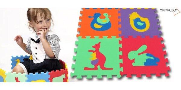 Dětský pěnový koberec nebo stavebnice