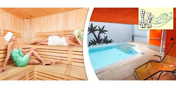 Blahodárný odpočinek v Saunafit Primavera pro dva