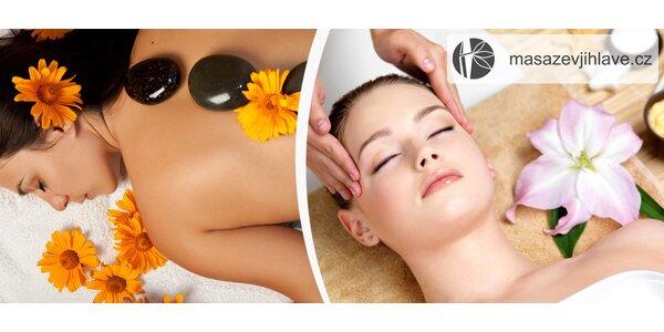 Výběr z dokonalých masáží v délce 60-70 min