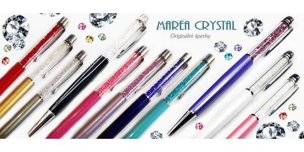 Luxusní propiska s krystaly
