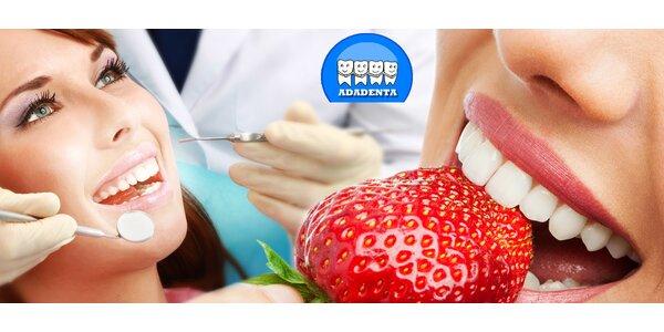 Dentální hygiena s fluoridací i air-flow (50 min)