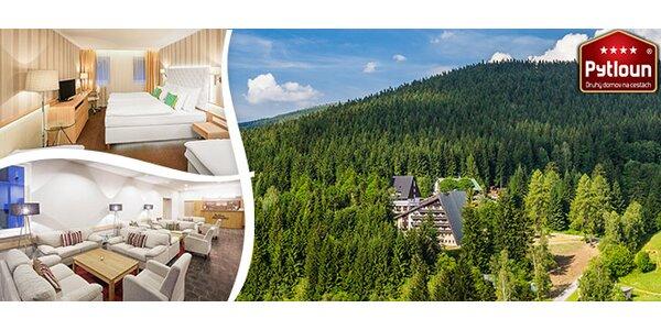 Luxusní last minute pobyt do moderně zařízeného Pytloun hotelu**** Harrachov