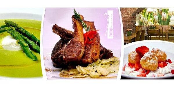 Famózní jarní menu pro dva v restauraci Tulip