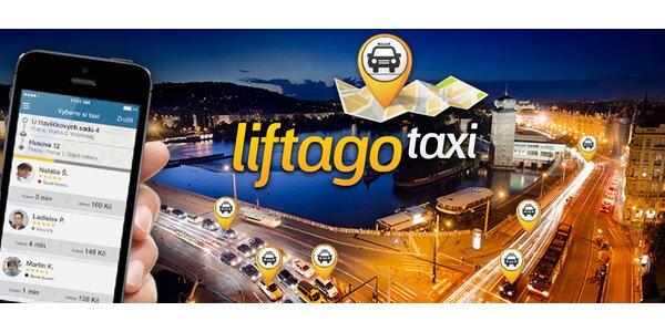 Kredit 400 Kč do aplikace Liftago taxi