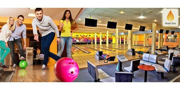 Pronájem bowlingové dráhy na 60 min ve Sportcentru Duo