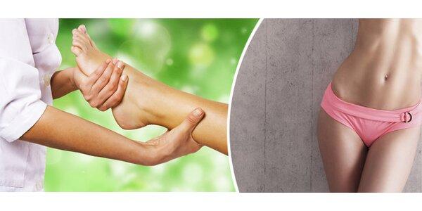 Zeštíhlující masáž nohou a břicha s Collagenem